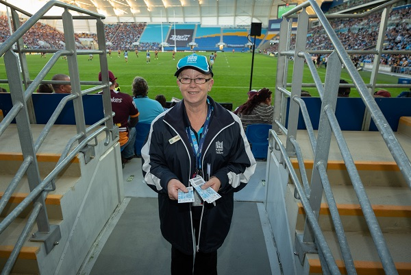 Cbus Super Stadium Staff Member