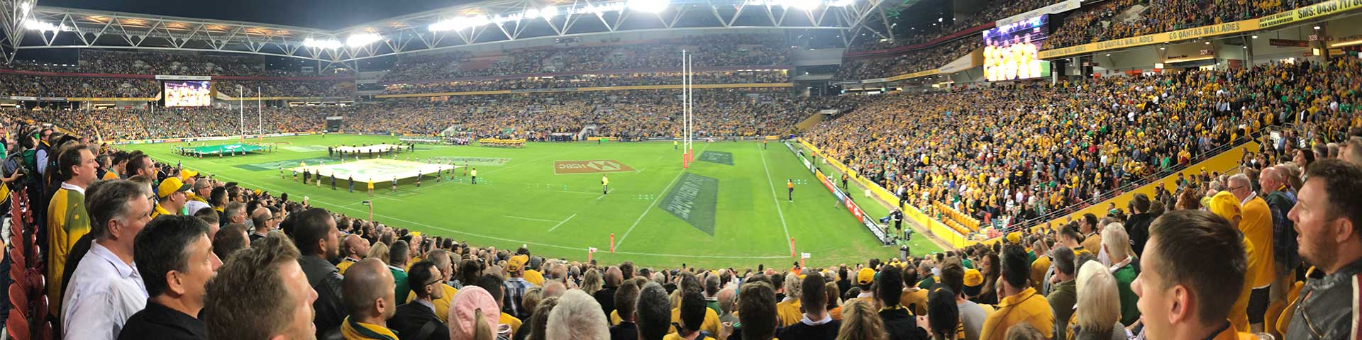Wallabies v Ireland at Suncorp Stadium
